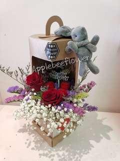🚚 Birthday Flowers Surprise Anniversary Rose Bouquet
