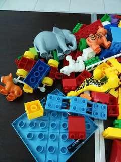Assorted type of blocks