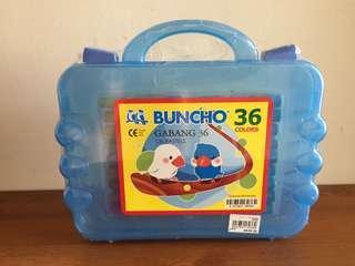 Buncho Oil Pastels 36 Colours