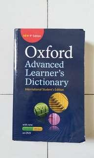 Oxford Advanced Learner's Dictionary - International Student's Edition, 9th Edition