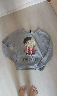 Grey Fries pullover