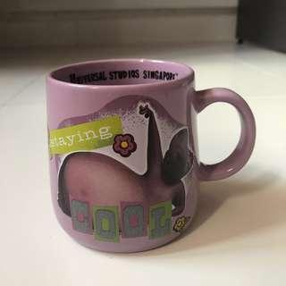 #Blessing Madagascar Porcelain Mug (used)
