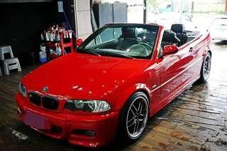 01 BMW E46 330cic 敞篷