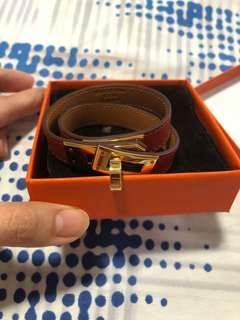 Hermes Kelly double bracelet