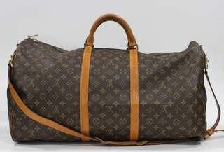 a11713fb047e Louis Vuitton Keepall 60 Bandouliere with Strap