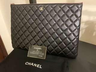 🚚 Chanel vintage 手拿包(大)