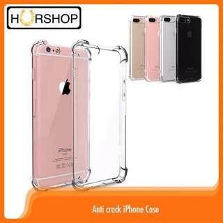 Case iPhone anti crack anti bentur silicone casing