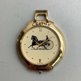 Celine pocket watch