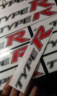 Sticker pintu type R ( kiri kanan )