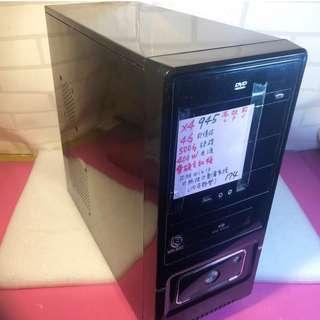 AMD4核心主機X4-945 4G 記憶體 500G Win10 不議價
