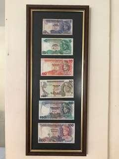 Duit Lama Old notes