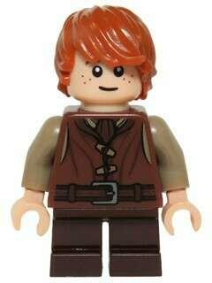 Lego Hobbit Minifigure - Bain , The Son Of Bard ( Retired Product )