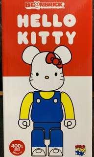 全新未開 Medicom Toy Bearbrick 400% Hello Kitty Sanrio 凱蒂貓Be@rbrick 2018