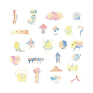 🚚 Elegant [Little Monsters] Sticker Pack