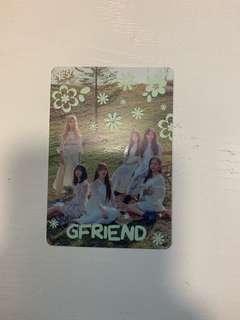 Gfriend 48期夜光卡