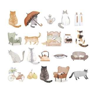 🚚 Elegant [Kitty Cats] Sticker Pack