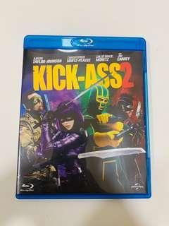 Blu ray KICK-ASS2 藍光碟