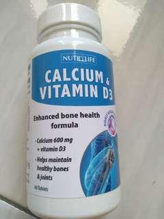 calcium, dan vitamin