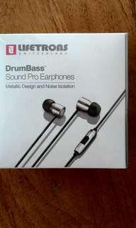 Lifetrons DrumBass Sound Pro Earphones