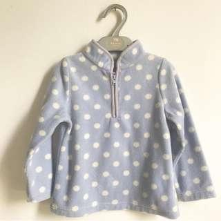 Polkadot sweater by Mothercare