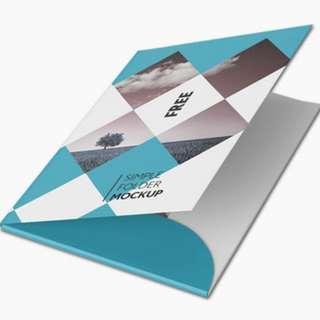 Folder - Design & Print