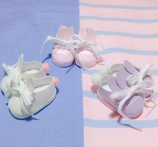 BTS EXO 20cm Bunny Tail Doll Shoe
