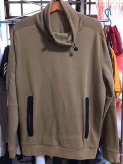 Turtle neck hoodie