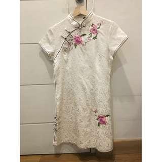 Qipao Dress Putih