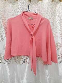 Blouse Crop top Pink