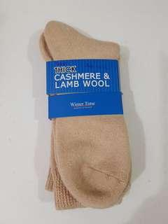 🚚 Men's Cashmere and Lamb wool sock