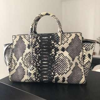 Saint Laurent bag in snake print YSL authentic