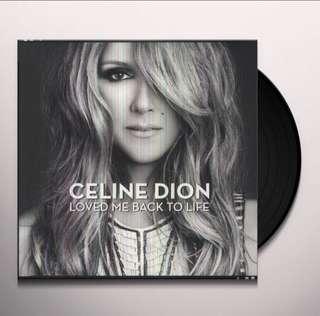 Celine Dion - Loved Me Back To Life LP, (Brand New)