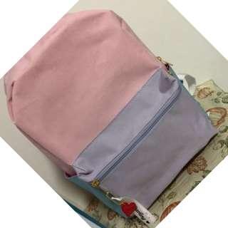 購自日本 Outlet Wego, 粉紅色書包,背包  全新,限定商品