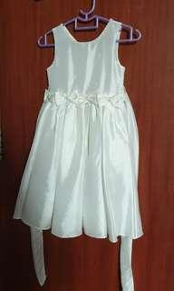 🚚 USED ONCE : Flower Girl Dress