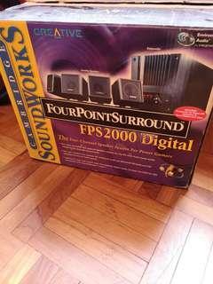 Creative fps2000 digital 4.1 speaker
