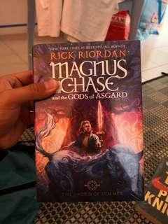 Magnus Chase and the God of Asgard rick riordan