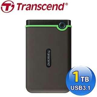 創見 StoreJet 25M3 2.5吋 usb 3.0 1TB 行動硬碟(TS1TSJ25M3)