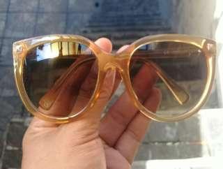 Victoria's Secret Oversized Sunglasses Gradent Clear AUTHENTIC Ladies Spikey