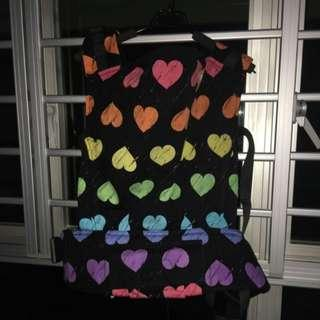 Tula Full-Printed Baby Carrier - Wild Hearts (Standard Size) with Rainbow Dye