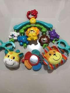 Fisher Price - Hanging stroller toys