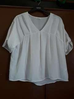 Repriced-Off white womens blouse