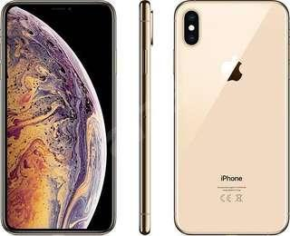 Iphone XS Max 256GB Gold Color (Brand New Set from Singtel)