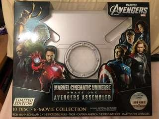 Marvel Cinematic Universe: Phase One - Avengers Assembled Limited Edition Box Set