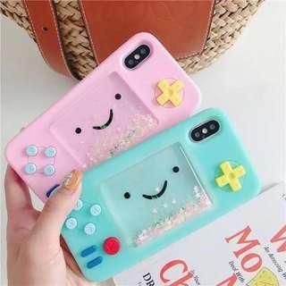 handheld game liquid phone case