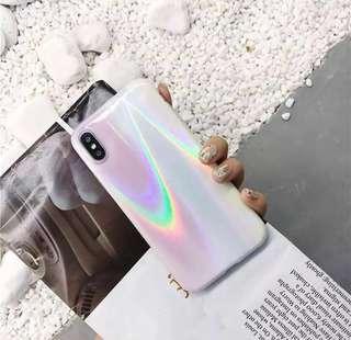 iridescent phone case