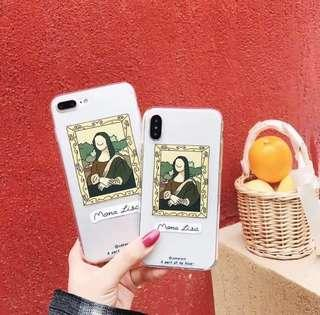 mona lisa phone case