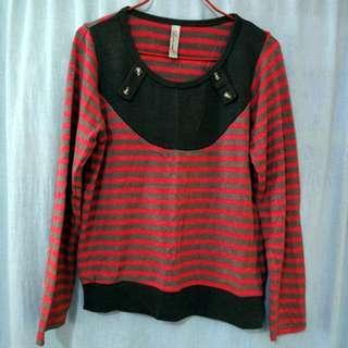 粉紅毛衣啡間衫 (二手) #sellmar19