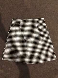 Luck & Trouble A-line Mini Skirt