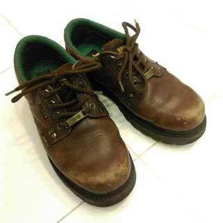 🚚 二手MIG CLASSICS 真皮厚重質感工作休閒鞋 7號