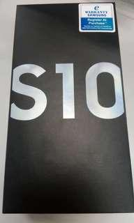 Samsung S10 128GB+8GB Black / White / Green (Malaysia set)